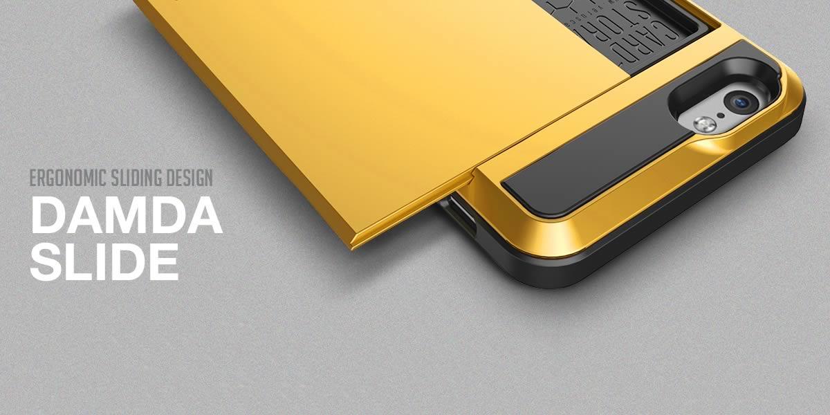 PASMOなどカードが収納できるiPhone 6 Plusケース「VERUS DAMDA SLIDE」を買ってみた