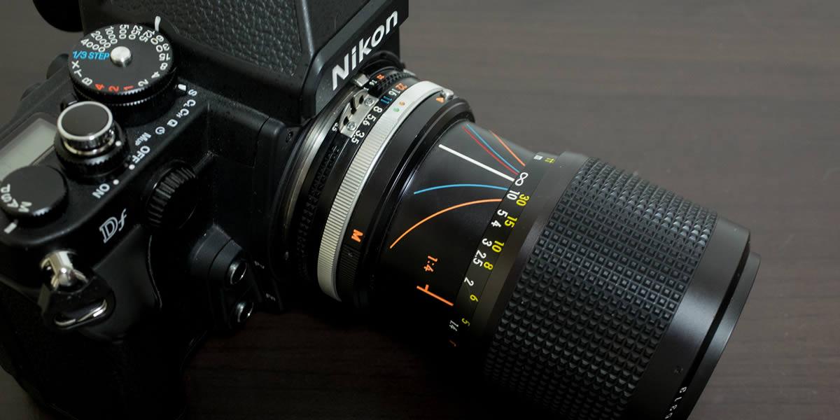 2本目のオールドレンズに「Zoom Nikkor 35–105mm F3.5–4.5」を買ってみた